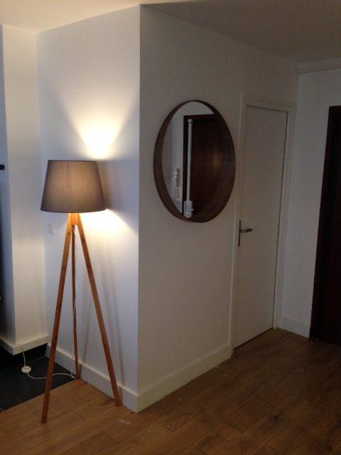 Vue couloir d'un appartement 2 pièces sur Paris 18