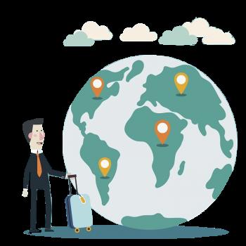 Investissement locatif pour les expatriés - Carte du monde